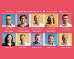 SPD Fraktion in Landtag